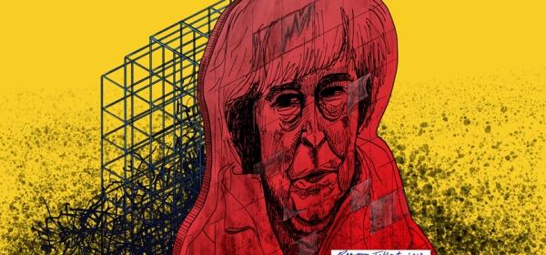 Theresa May by Rowan Tallant
