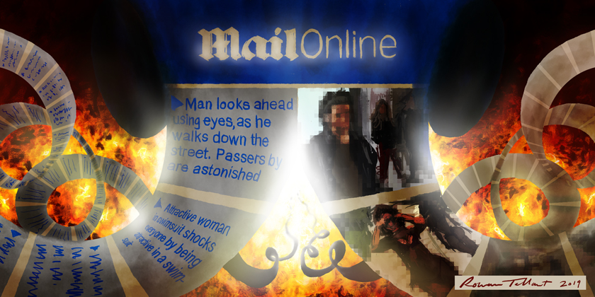 Mail Online: Descent Into Hell by Rowan Tallant