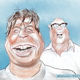 Masterchef: John Torode and Gregg Wallace by Rowan Tallant