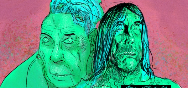 PUNK: John Lydon and Iggy Pop by Rowan Tallant