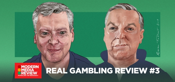 Real Gambling Review #2 - Robin Gibson - Sean Gollogly