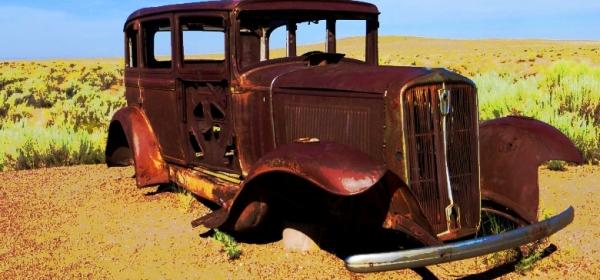 Rustbucket car