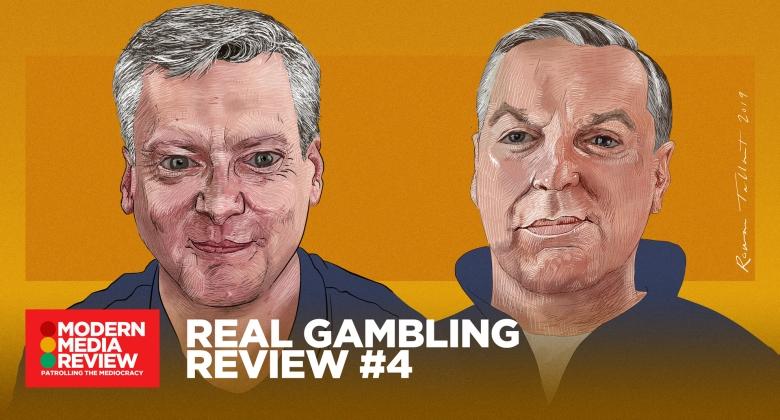 Real Gambling Review #4 - Robin Gibson - Sean Gollogly