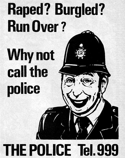 Call the Police (Viz Comic)