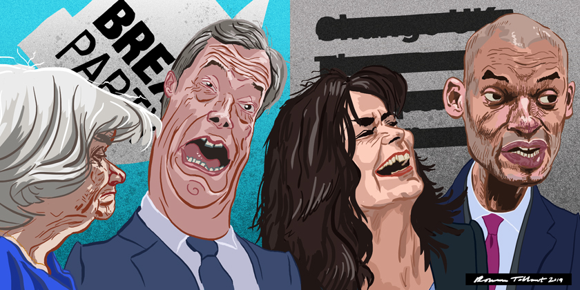 Change UK and the Brexit Party by Rowan Tallant