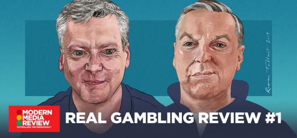 Real Gambling Review - Robin Gibson - Sean Gollogly