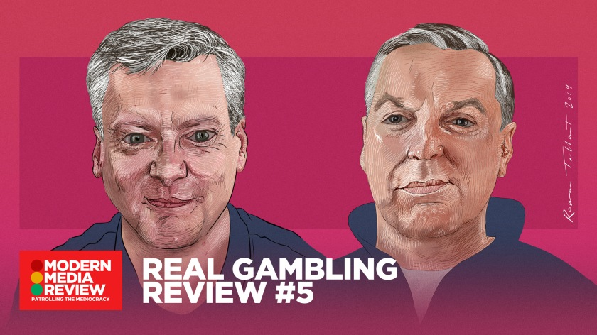 Real Gambling Review #5 - Robin Gibson - Sean Gollogly