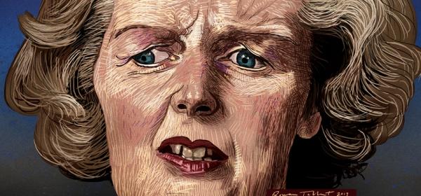Margaret Thatcher by Rowan Tallant